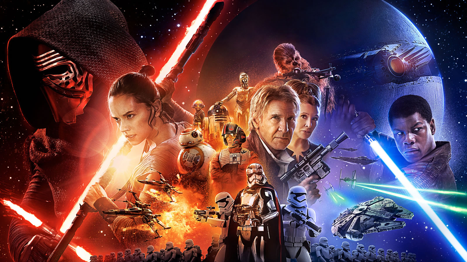 Star Wars Force Awakens Wallpaper 7 Scera