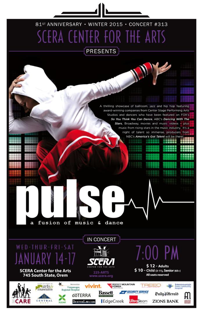PULSE! A FUSION OF MUSIC & DANCE - SCERA