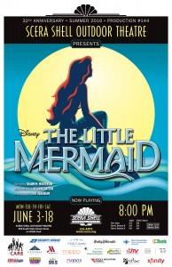 Playbill for Disney's THE LITTLE MERMAID