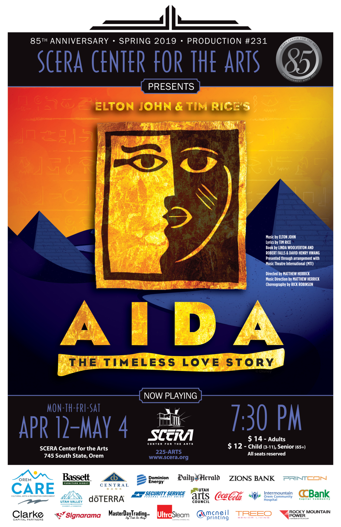 AIDA | Musical | SCERA Center for the Arts