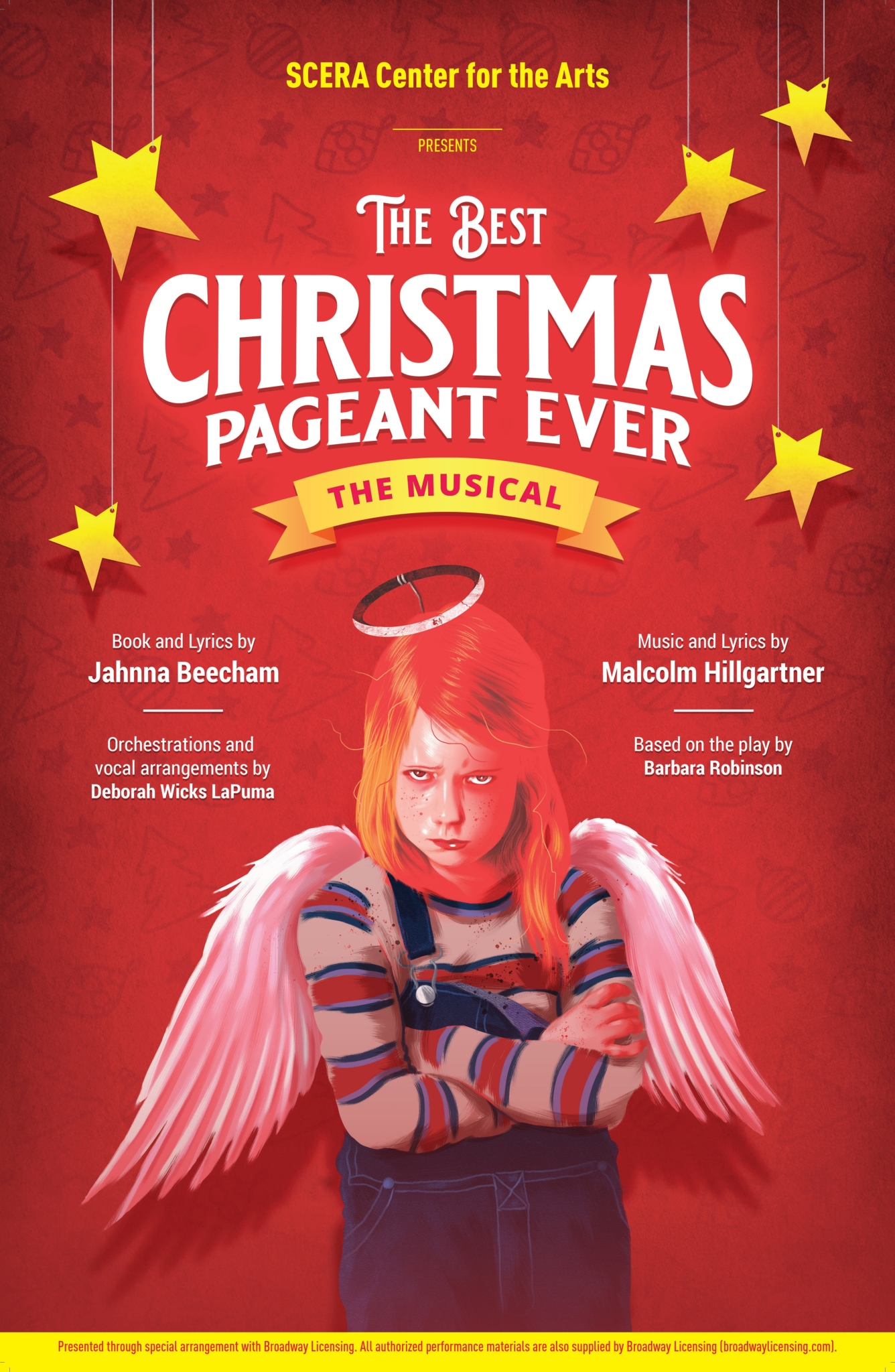 the best christmas pageant ever scera center for the arts